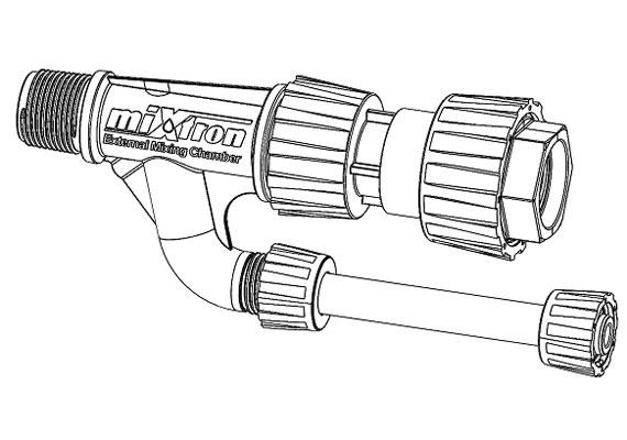 Bypass System - External Mixing Chamber